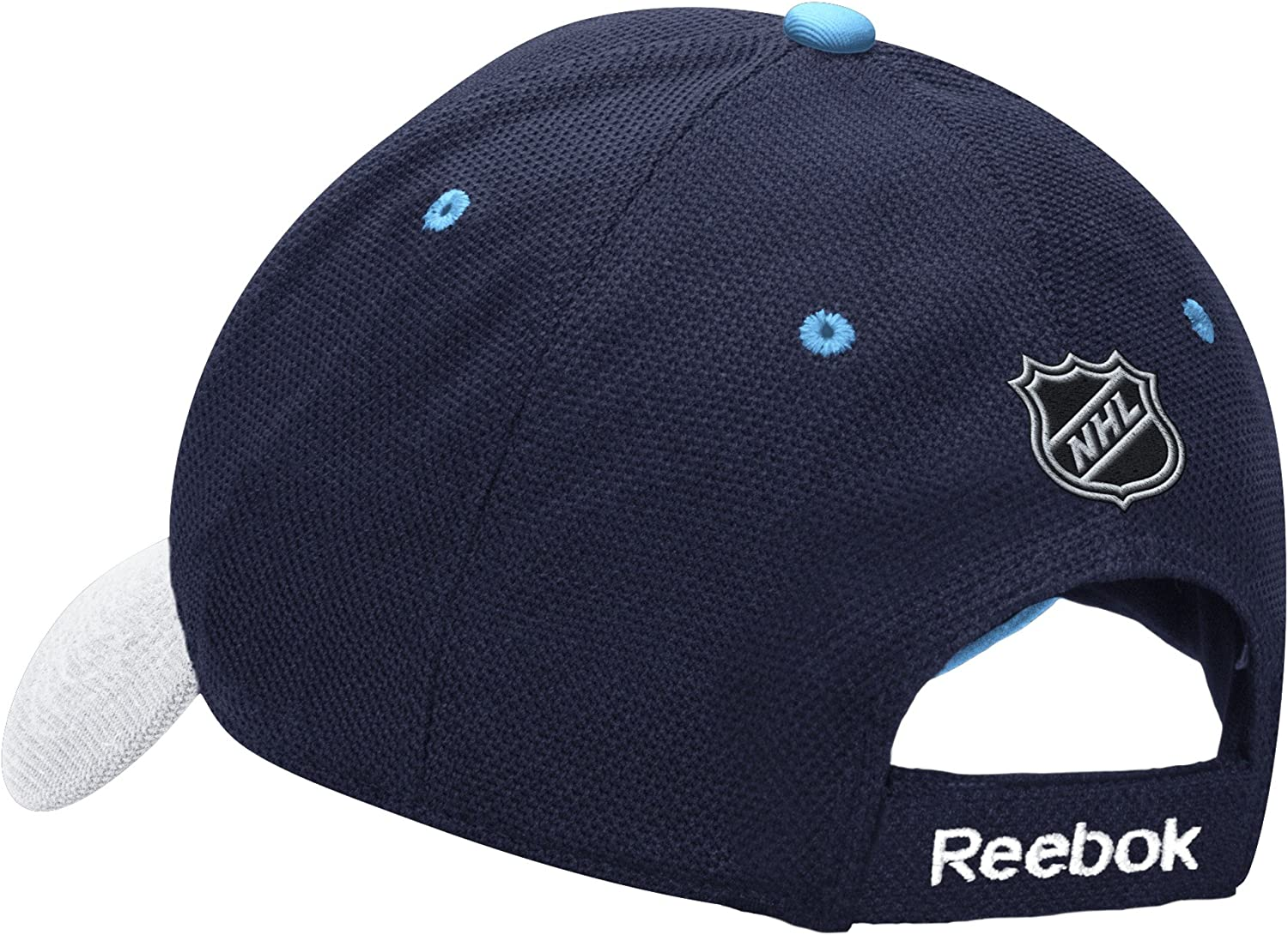 NHL Winter Classic Mens Structured Adjustable Hat One Size Blue