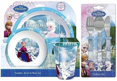 Disney Frozen 6-Piece Dinner Set   Mealtime   Dinnerware  sc 1 st  Amazon UK & Disney Frozen 6-Piece Dinner Set   Mealtime   Dinnerware: Amazon.co ...