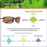 Maui Jim Sunglasses | Banyans H412-10 |, HCL Bronze Lenses, with Patented PolarizedPlus2 Lens Technology