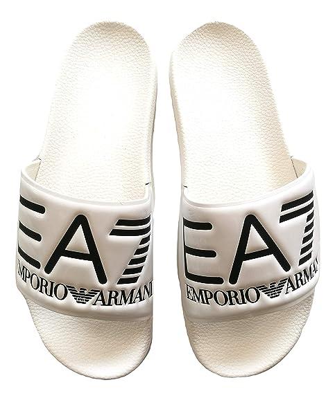Emporio Armani - Sandalias de Vestir de Caucho para Hombre ...