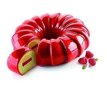 Silikomart - Molde de silicona - Kit Red Tail.Cocina.Molde de silicona para repostería.: Amazon.es: Hogar