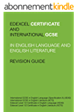 Edexcel IGCSE and Certificate in English Language and Literature Revision Guide (English Edition)