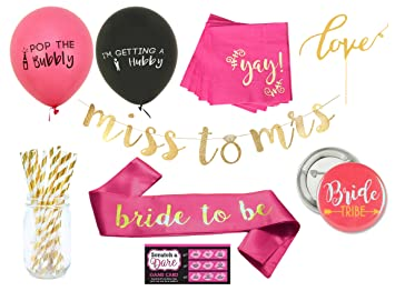 Classy Bachelorette Party Decorations Kit By Blast In A Box