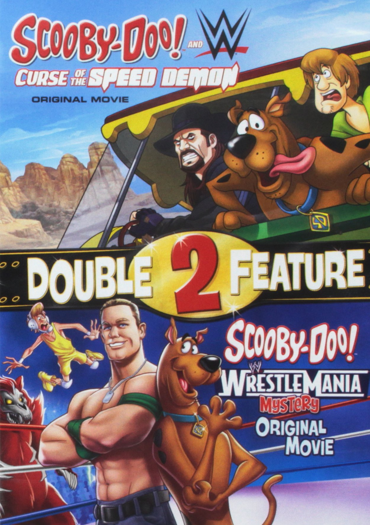 DVD : Scooby / Wwe: Curse of the Speed Demon and Scooby / Wwe WrestlemaniaMystery (2 Disc)