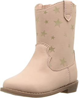 Carter/'s Toddler Girls Pity3 Kitty Cat Brown Novelty Riding Boots Fashion Shoes