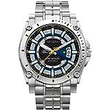 Bulova Men's 46mm Champlain Stainless Steel Bracelet Watch
