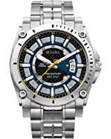 Bulova Men's Stainless Steel Champlain Watch
