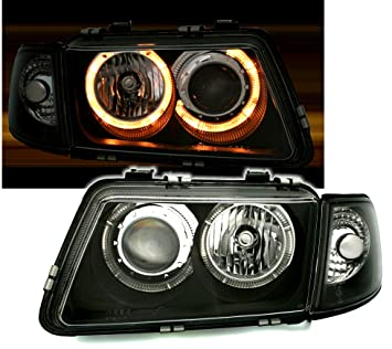 AD Tuning GmbH & Co. KG 960350 - Set de Faros Angel Eyes, en