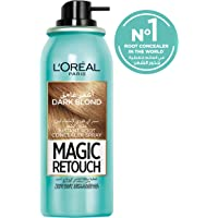 L'Oreal Paris Magic Retouch Instant Root Concealer Spray for Women, Dark Blonde, 75 ml