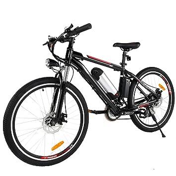 Amdirect Electric Mountain Bike E Bike 250w High Speed Brushless