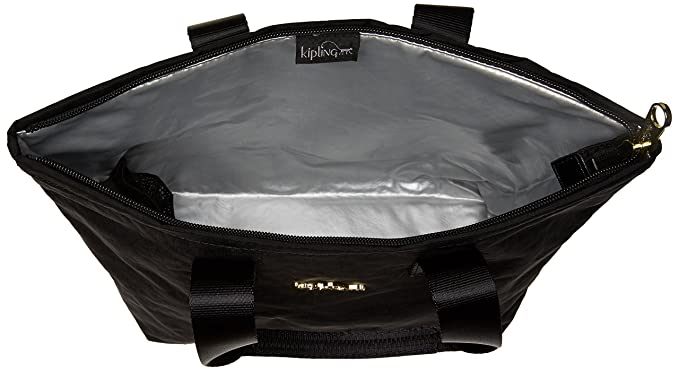 0b93d887d4 Amazon.com: Kipling Niamh Black Patent Combo Insulated Lunch Bag: Clothing