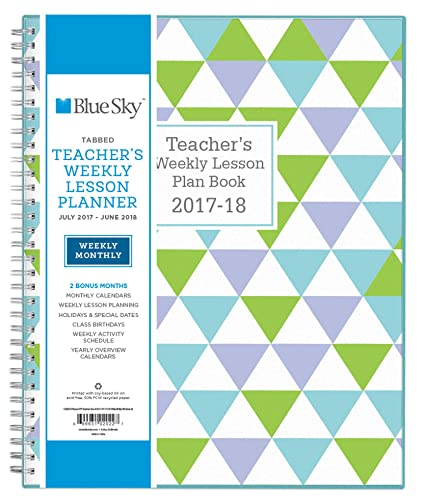 Blue Sky 2017-2018 - Agenda escolar para profesores ...