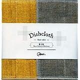 Nawrap Binchotan Dishcloth, Naturally Anti-Odor, Tangerine X Charcoal