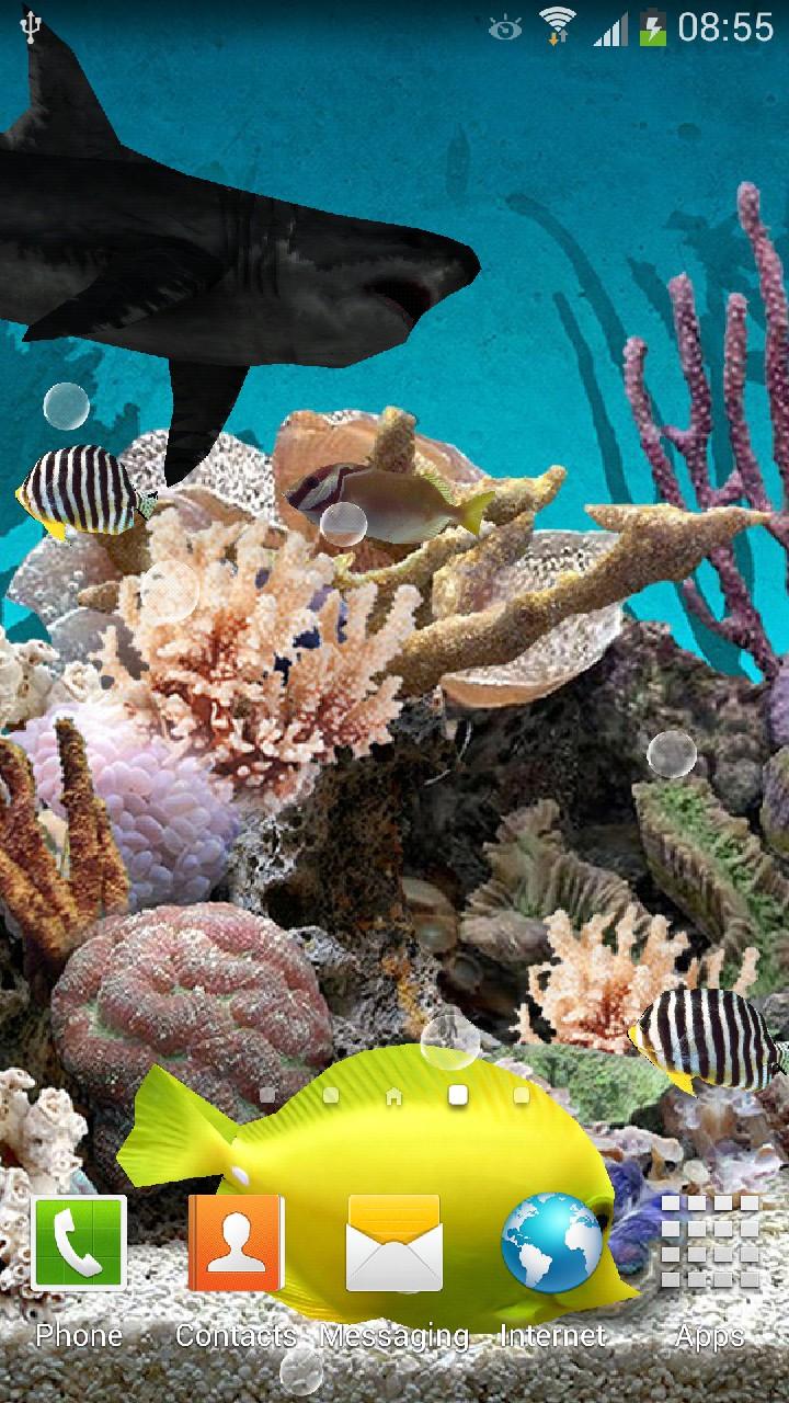 Amazon.com: 3D Aquarium Live Wallpaper: Appstore for Android