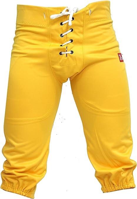 barnett FP-2 football pants match yellow