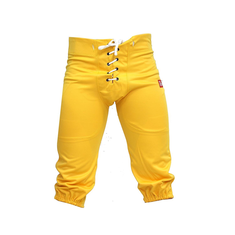 Barnett FP-2 Pantalon de football américain us match jaune