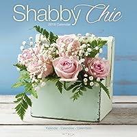 Shabby Chic Calendar - Calendars 2018 - 2019 Wall Calendars - Art Calendar - Shabby Chic 16 Month Wall Calendar by Avonside