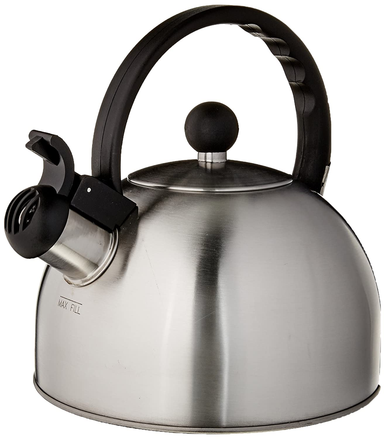 Copco 2503-7797 Tucker Brushed Stainless Steel Tea Kettle, 1.5-Quart
