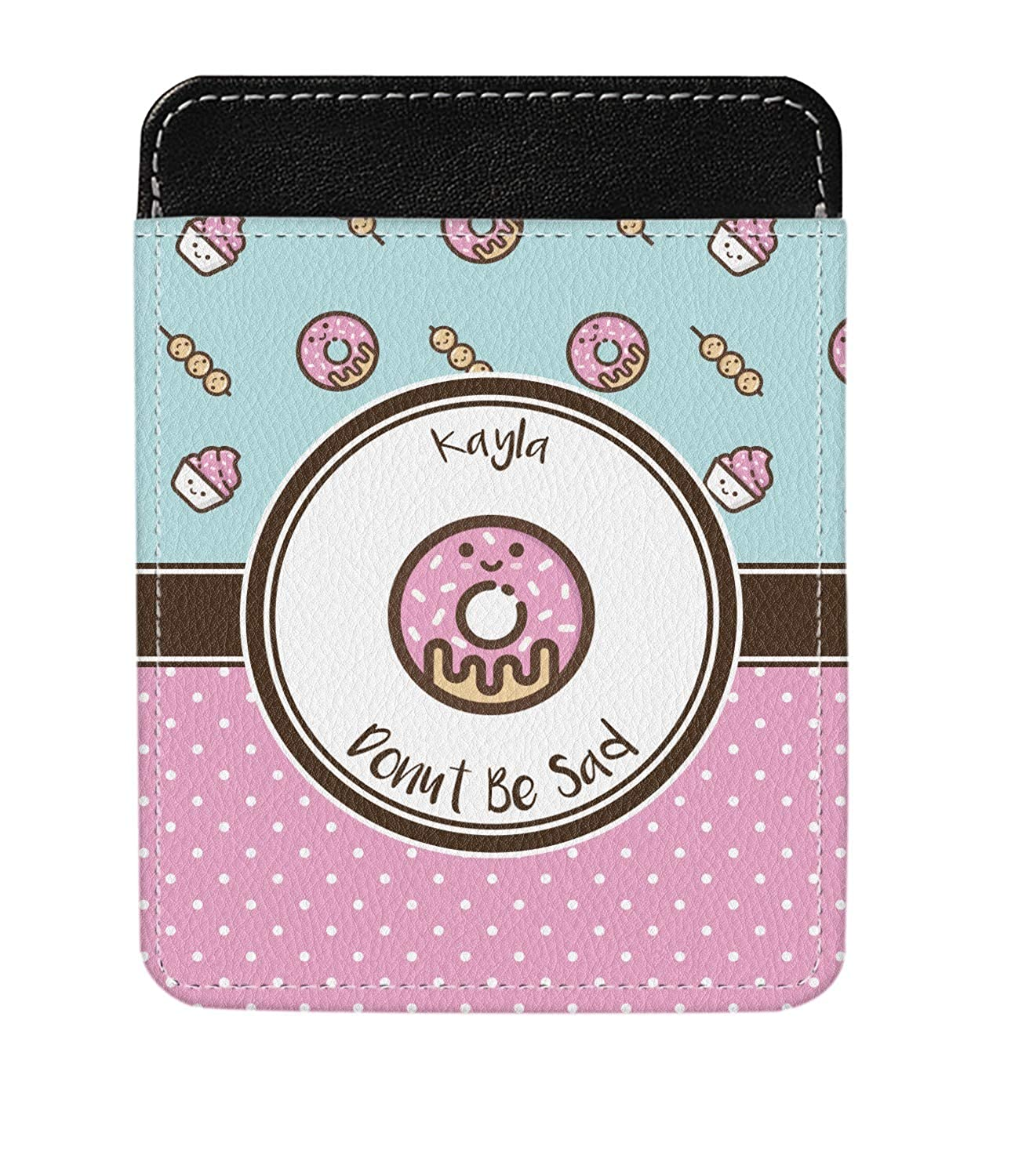 Donuts Genuine Leather Money Clip Personalized