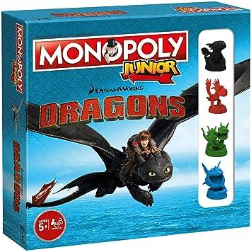 Monopoly Junior Dragons Collectors Edition: Amazon.es: Juguetes y juegos