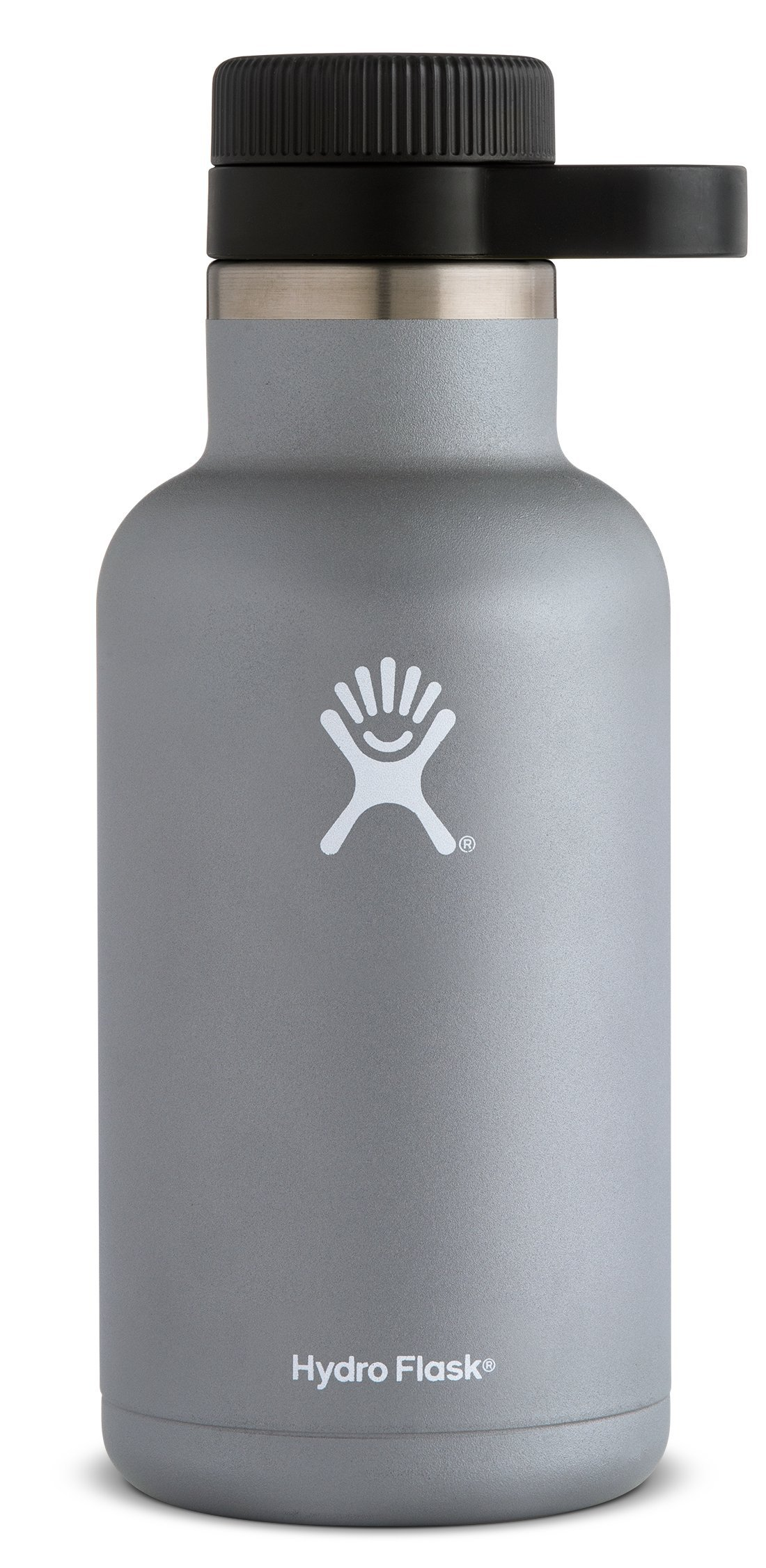 Hydro Flask 32 oz Double Wall Vacuum Insulated Stainless Steel Beer Howler, Graphite