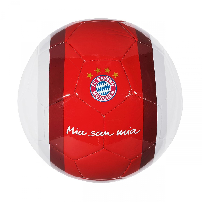 Pelota de fútbol del Bayern de Múnich, Mia san mia, rojo/blanco ...