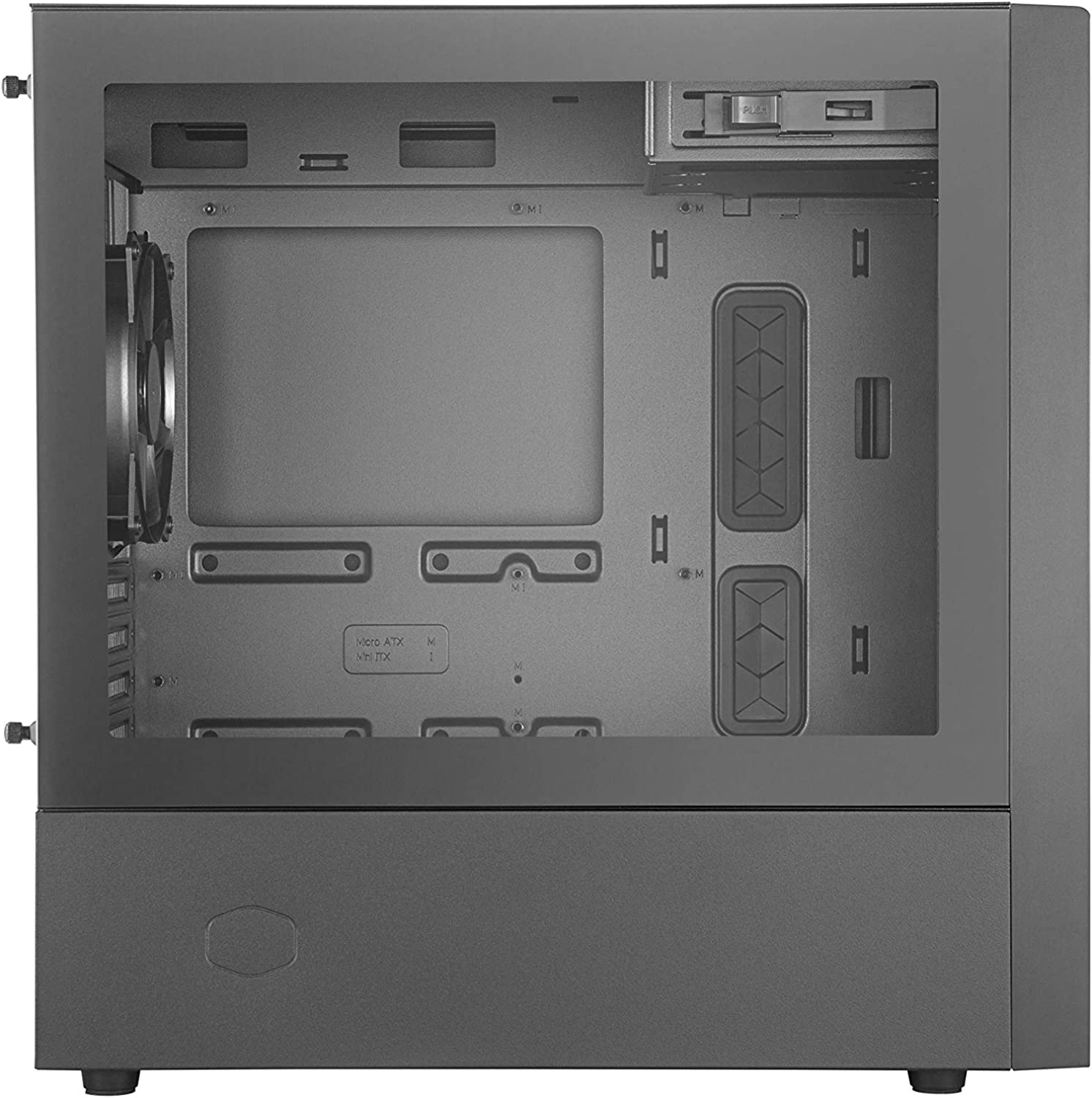 Cooler Master Silencio S600 ATX Mid-Tower with Sound-Dampening Material SD Card Reader Sound-Dampened Solid Steel Side Panel Reversible Front Panel and 2X 120mm PWM Silencio FP Fans