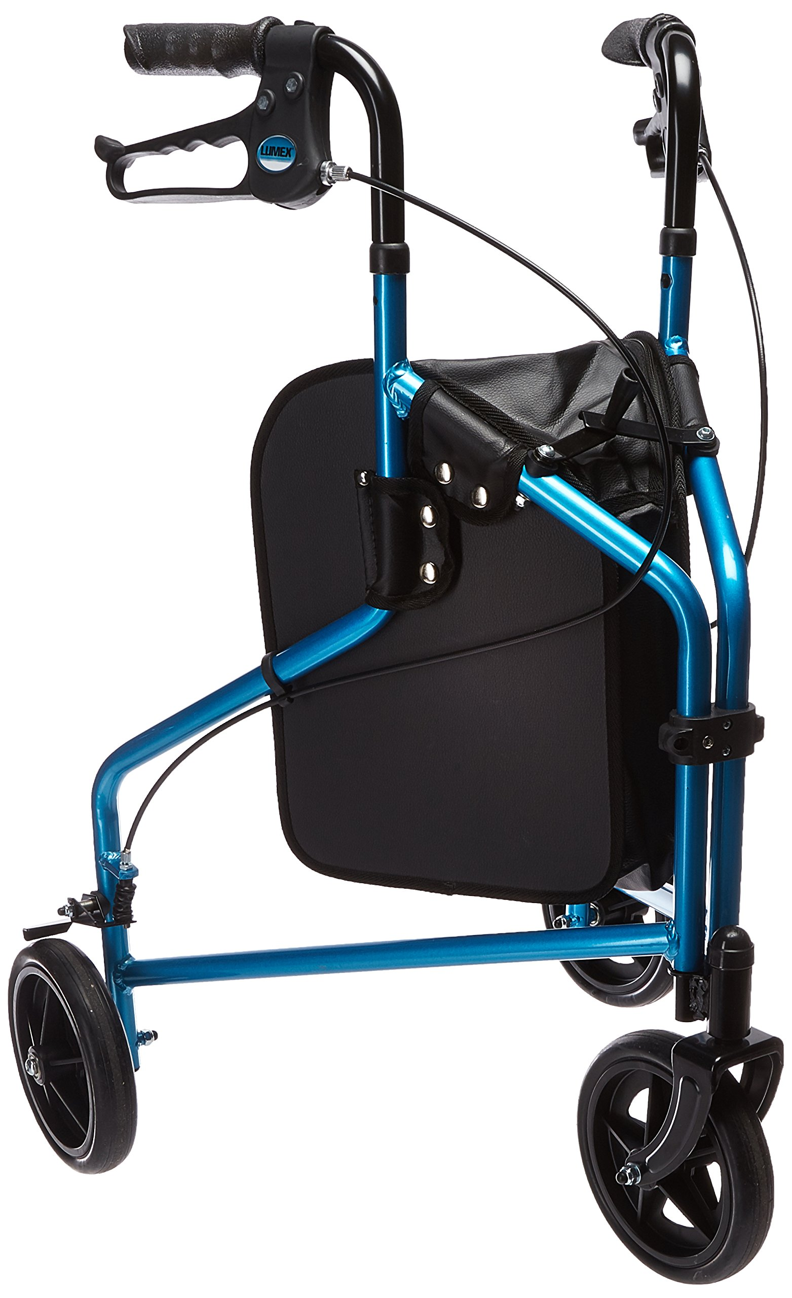 Lumex 3 Wheel Cruiser-Bondi Blue-Aluminum Frame of 8'' Wheels, 14 Pound