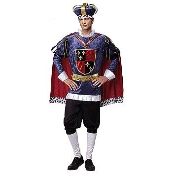 My Other Me Me-201251 Medieval Disfraz de Rey de Lujo para hombre ...