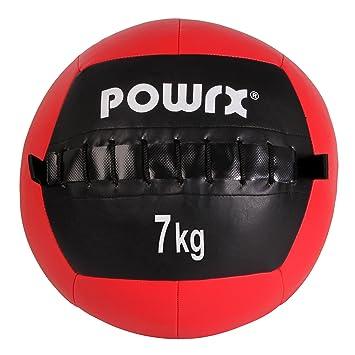 Balón medicinal Wall Ball, 1-10 kg, 7 kg / Rot: Amazon.es ...