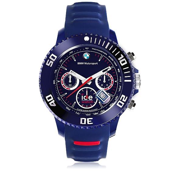 36ee281460ebb Ice-Watch - BMW Motorsport (sili) Dark blue - Men's wristwatch with silicon