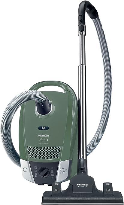 Miele - Aspirador S6240, 1200W, Bolsa 3.5L, Verde Oliva, Regulacion Electronica: Amazon.es: Hogar
