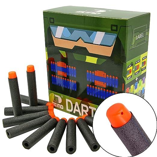 26 opinioni per EKIND Dardi per Nerf 100pcs Scatola di Imballaggio Schiuma Freccette per Nerf