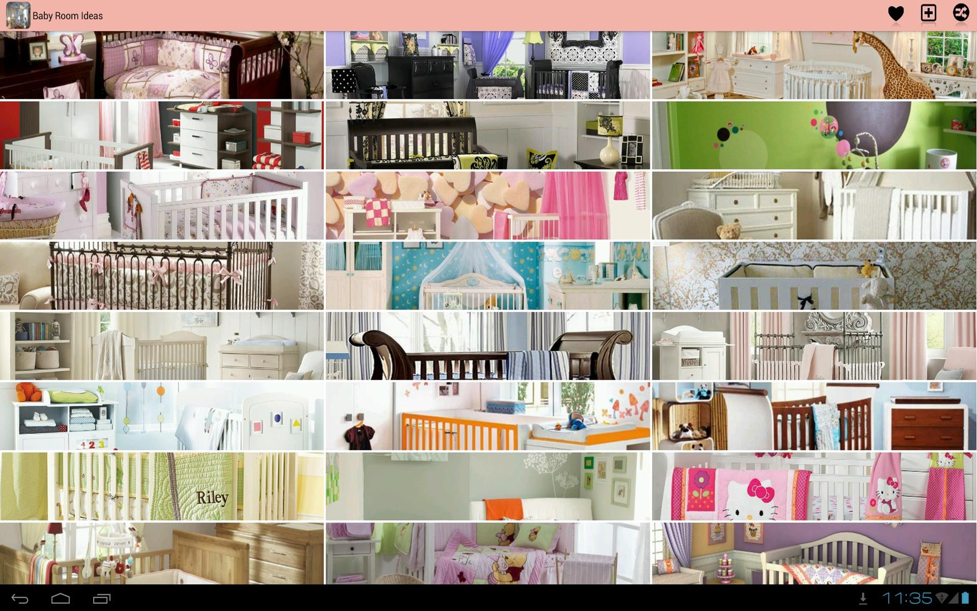 Baby room decor ideas appstore for android for Room design ideas app