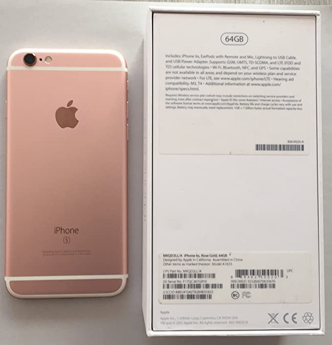 Apple iPhone 6s - Smartphone libre iOS (4.7