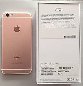 """Apple iPhone 6s - Smartphone libre iOS (4.7"""", 64 GB, 2 GB"""