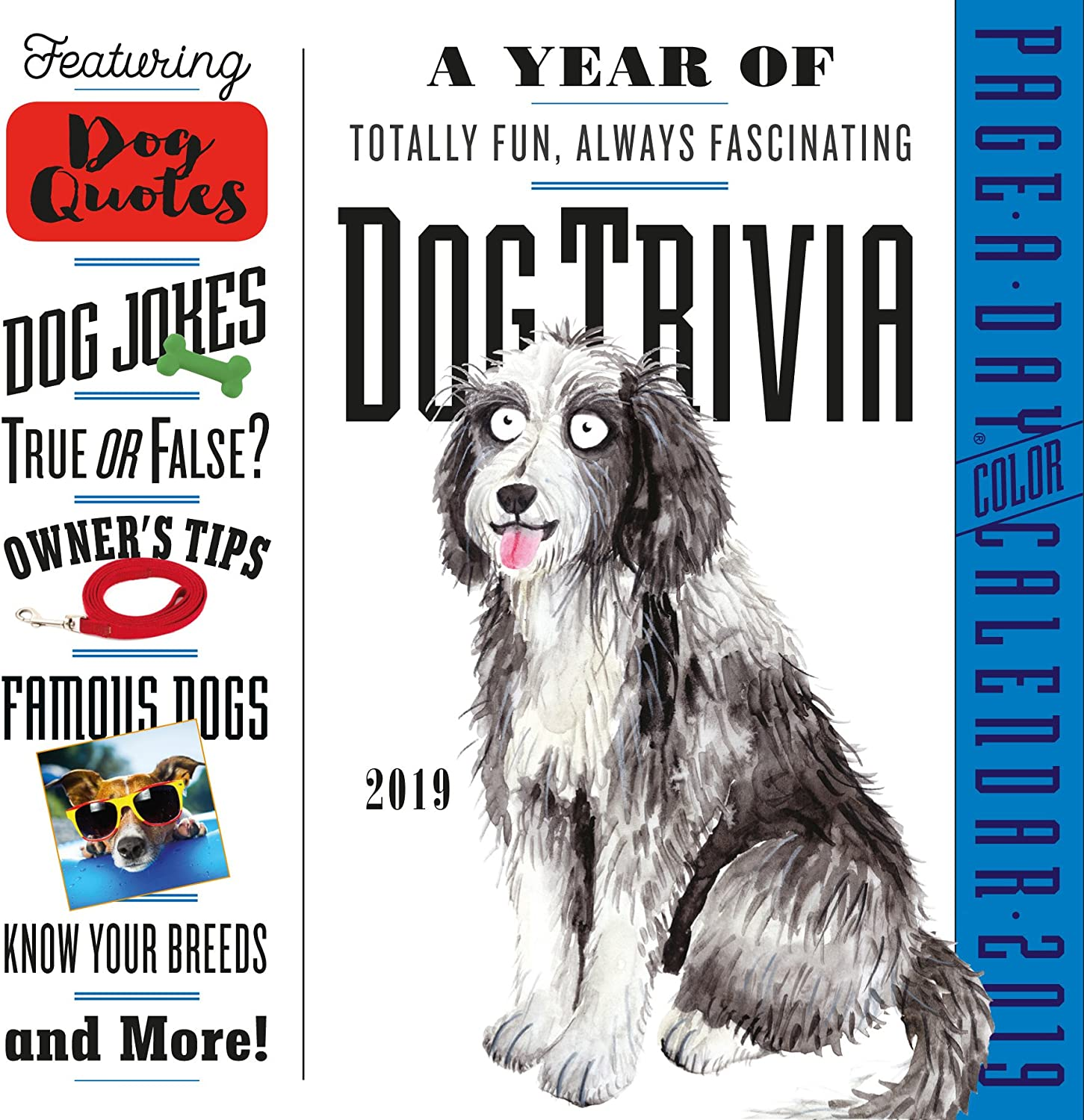 Year of Dog Trivia 365 Page-A-Day Desk Calendar 2019 [6