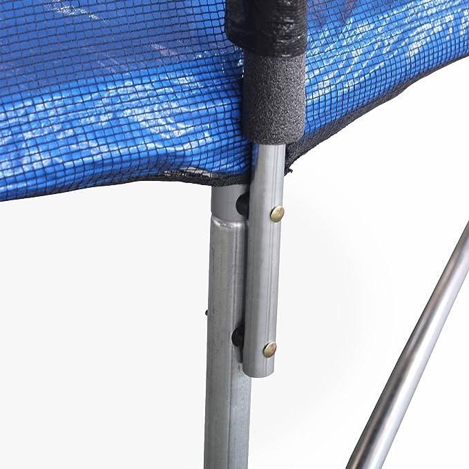 Alices Garden Trampoline Rond /Ø 460cm avec Son Filet de Protection Trampoline de Jardin 460 cm 4m Normes EU. Neptune Qualit/é Pro./