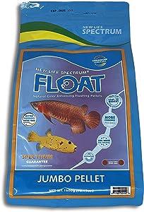 NLS New Life Spectrum Float Jumbo 5mm Pellet Bag for Fresh & Saltwater Fish 1600g