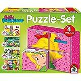 Schmidt Spiele 56501 - Puzzle - Set Bibi Blocksberg, 2 x 60, 2 x 100 Teile