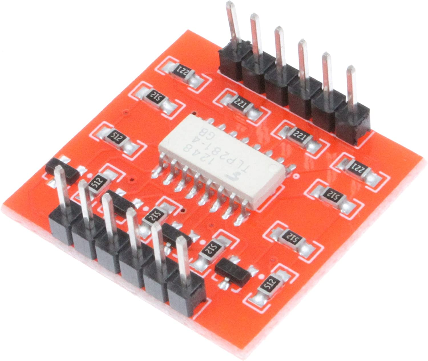 Tlp281 4-Channel Opto-Isolator IC Module Arduino Low /& High Level Expansion Board