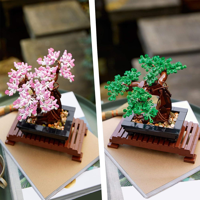 Modello da Esposizione Home Decor DIY Set per Adulti 10281 Collezione Botanica LEGO Creator/Expert Albero/Bonsai