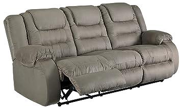 Amazon.com: Ashley Furniture 1010488 - Sofá reclinable con ...