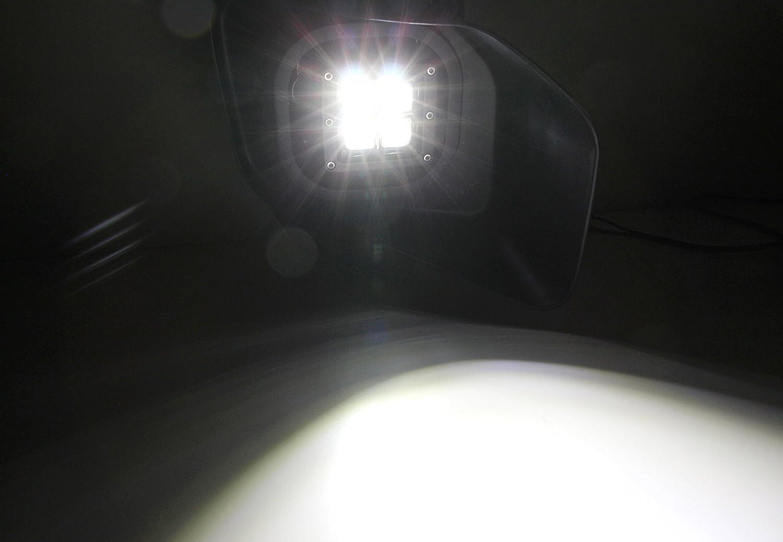 Foglight Bezel Covers 2 20w High Power Cree Led Cubes Fog
