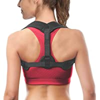 Posture Corrector for Men and Women, USA Designed - Adjustable Upper Back Brace for Clavicle Support and Providing Pain…