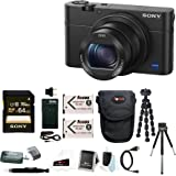 Sony Cyber-shot DSC-RX100 IV Digital Camera with Sony Attachment Grip and 64G...