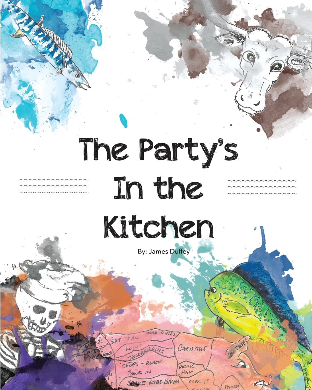 The Party\'s in the Kitchen: James R Duffey: 9780578195087: Amazon ...