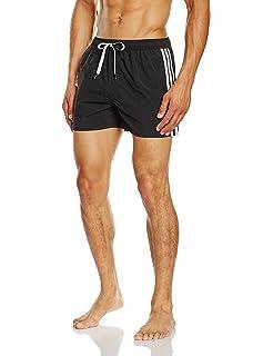0d8bdafcd2f00 adidas Jungen Pro Jam 3-Streifen Badehose: Amazon.de: Sport & Freizeit