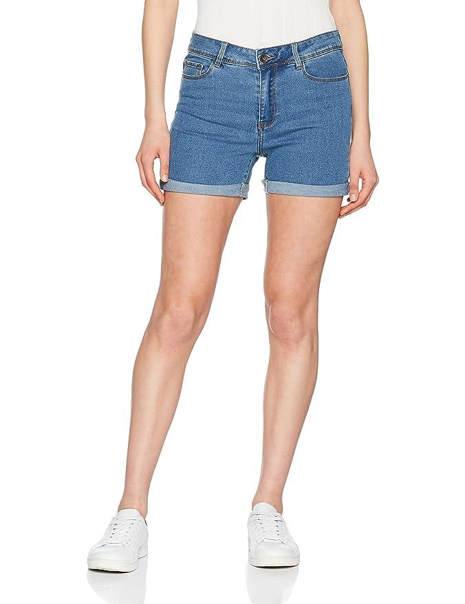Vero Moda Women's Vmhot Seven Nw DNM Fold Mix Noos Short: Vero Moda:  Amazon.co.uk: Clothing