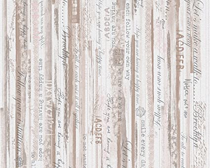 Carta Da Parati Con Scritte.Living Walls 95674 1 Carta Da Parati Con Scritte Decorative